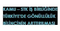 Kamu – STK İşbirliğinde Türkiye'deki  Gönüllülük Bilincinin Arttırılması Projesi